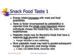 snack food taste 1