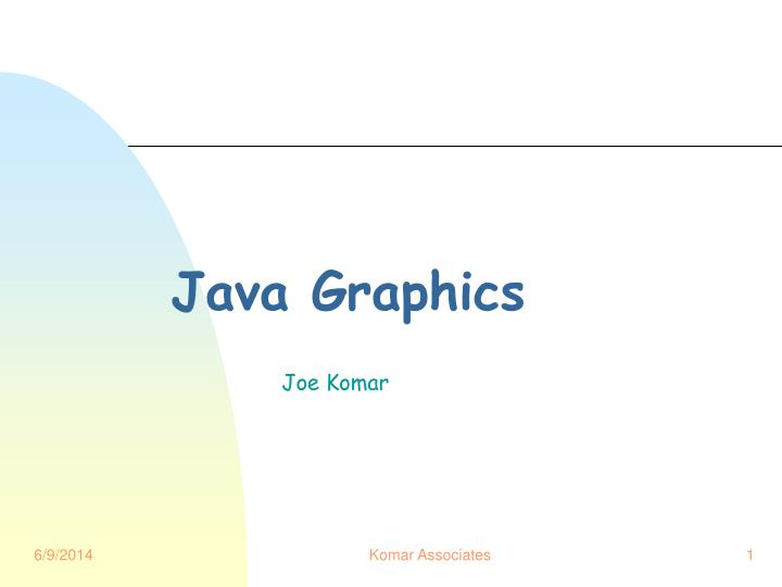 java graphics n.