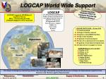logcap world wide support