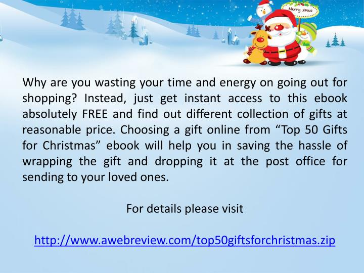 Why are you wasting your time and energy on going out for shopping? Instead, just get instant access...