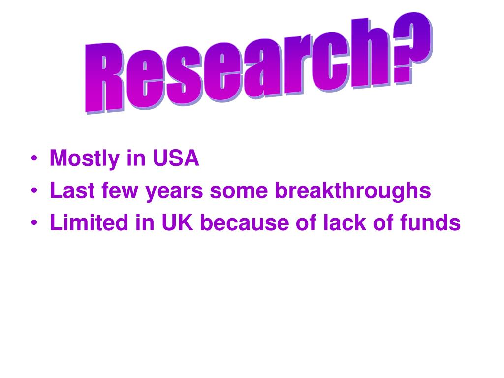Research?