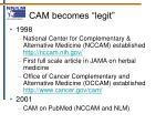 cam becomes legit9