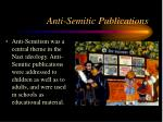 anti semitic publications