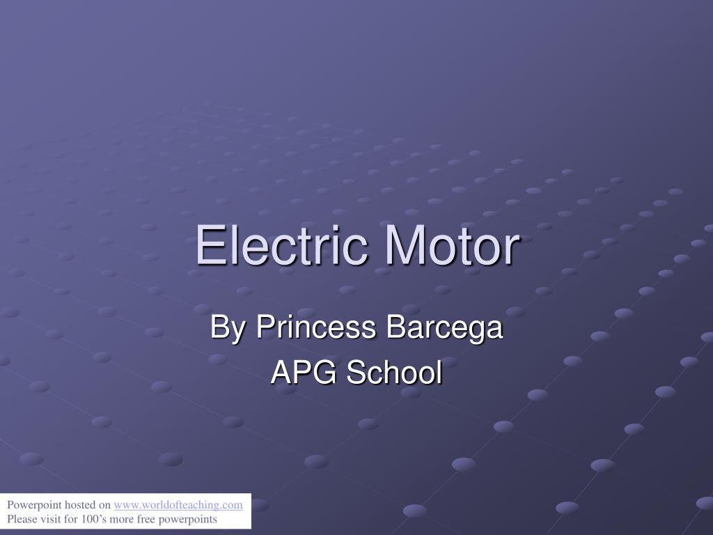 electric motor l.