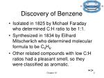 discovery of benzene
