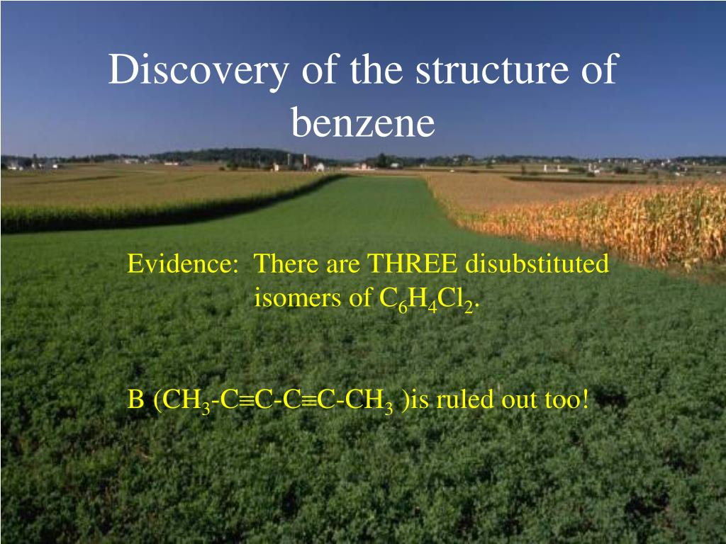 Discovery of the structure of benzene