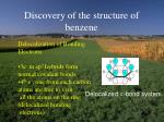 discovery of the structure of benzene7