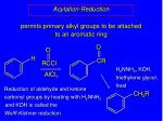 acylation reduction46