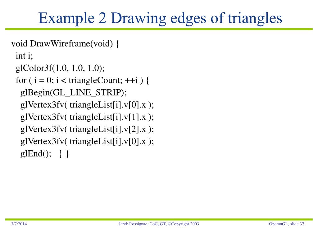 PPT - OpenGL: Introduction PowerPoint Presentation - ID:17477