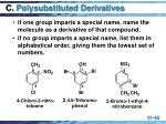 c polysubstituted derivatives