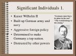 significant individuals 1