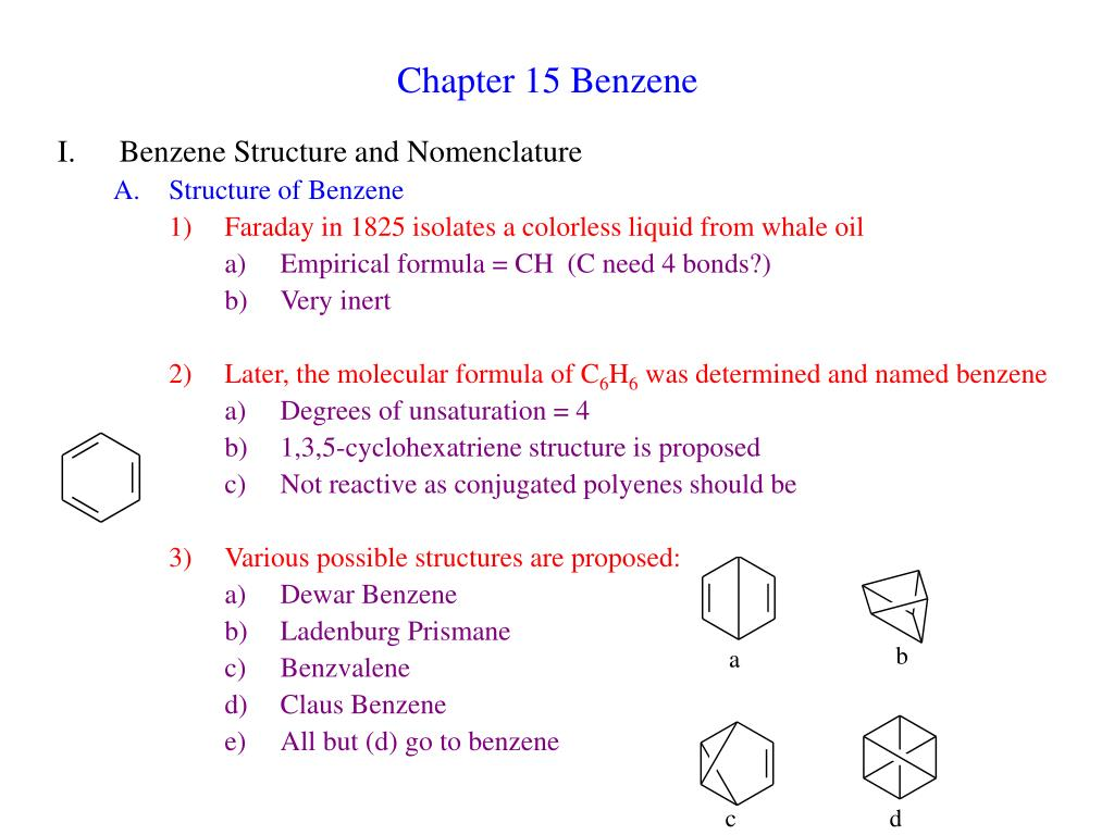 chapter 15 benzene l.