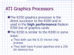 ati graphics processors