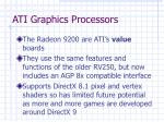 ati graphics processors35