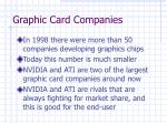 graphic card companies