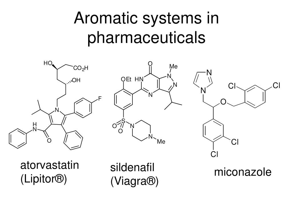Aromatic systems in pharmaceuticals
