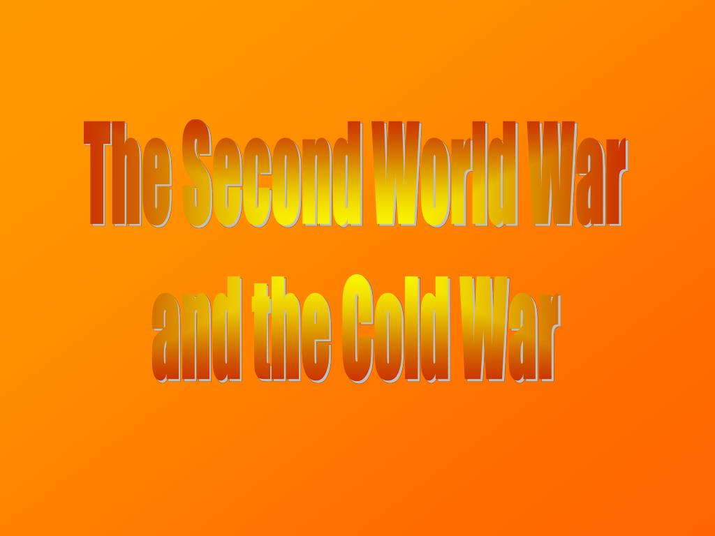 the drift towards world war one