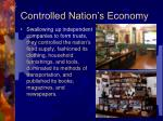 controlled nation s economy