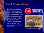 giant corporations
