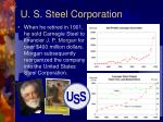 u s steel corporation
