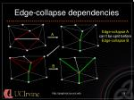 edge collapse dependencies