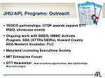 jhu apl programs outreach
