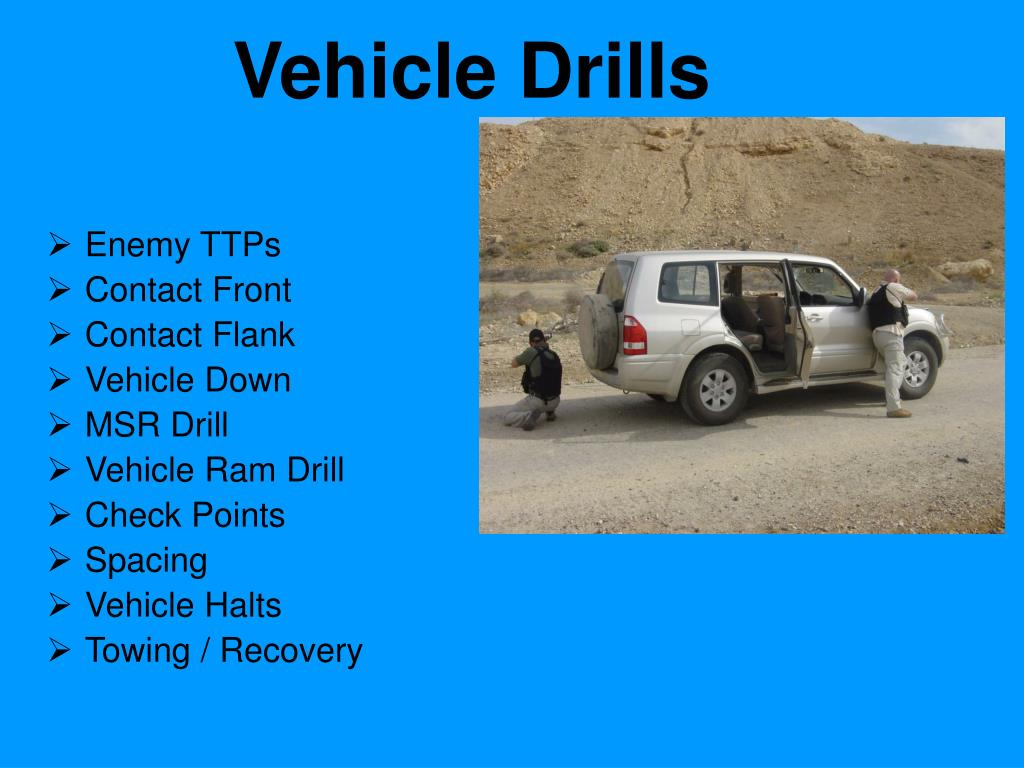 vehicle drills l.