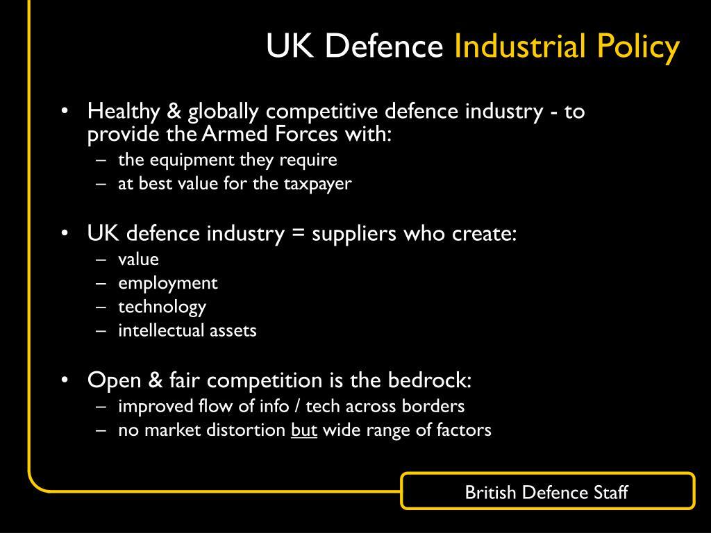 UK Defence