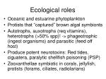 ecological roles30