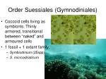 order suessiales gymnodiniales