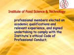 institute of food science technology10