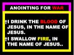 anointing for war86