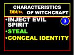 characteristics of witchcraft63