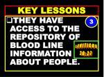 key lessons72