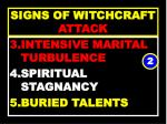 signs of witchcraft attack42
