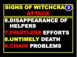 signs of witchcraft attack43