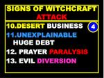 signs of witchcraft attack44