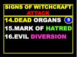 signs of witchcraft attack45