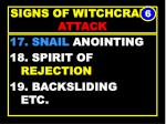 signs of witchcraft attack46