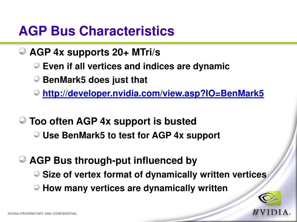 AGP Bus Characteristics
