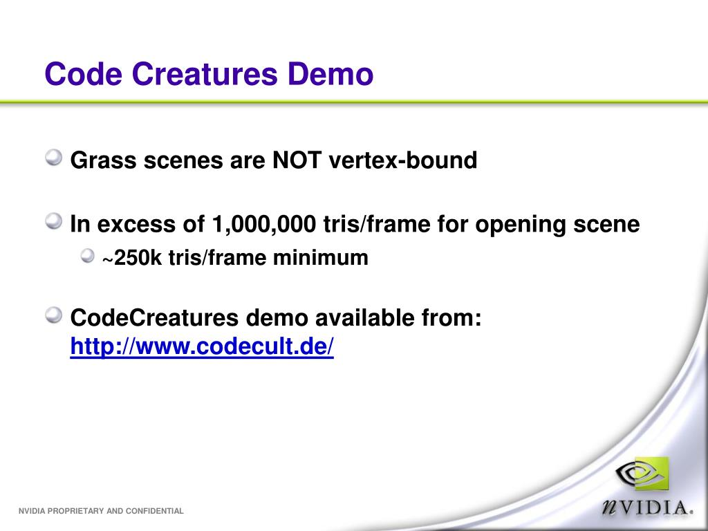 Code Creatures Demo