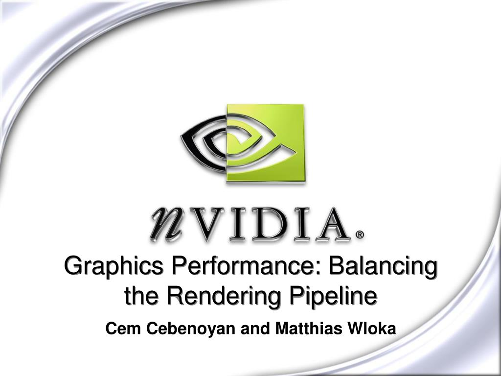 graphics performance balancing the rendering pipeline l.