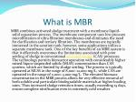 what is mbr
