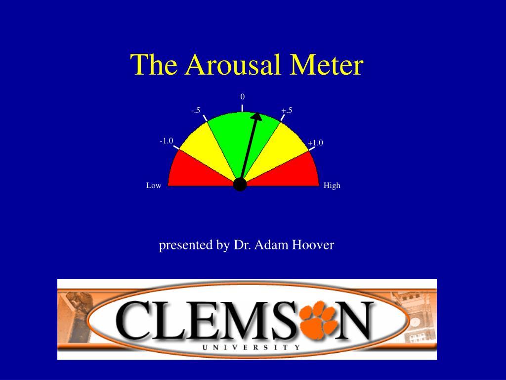 the arousal meter l.