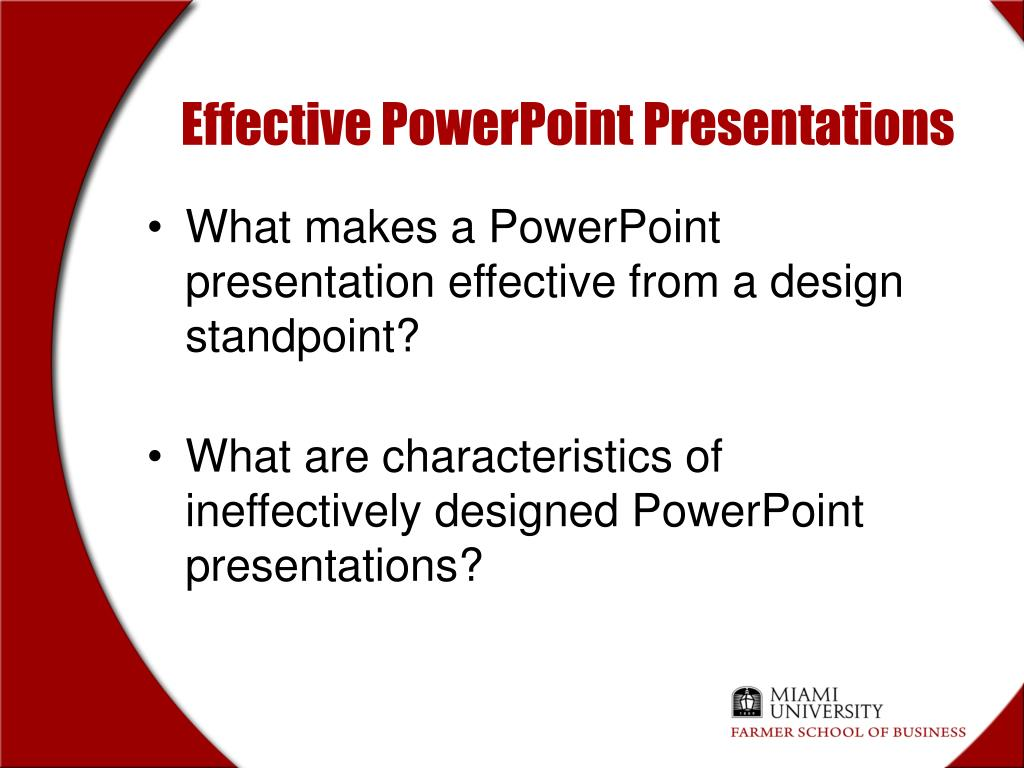 PPT - Purposes for Using PowerPoint PowerPoint Presentation, free Regarding University Of Miami Powerpoint Template