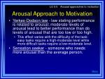 arousal approach to motivation10