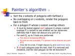 painter s algorithm 3