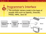 programmer s interface