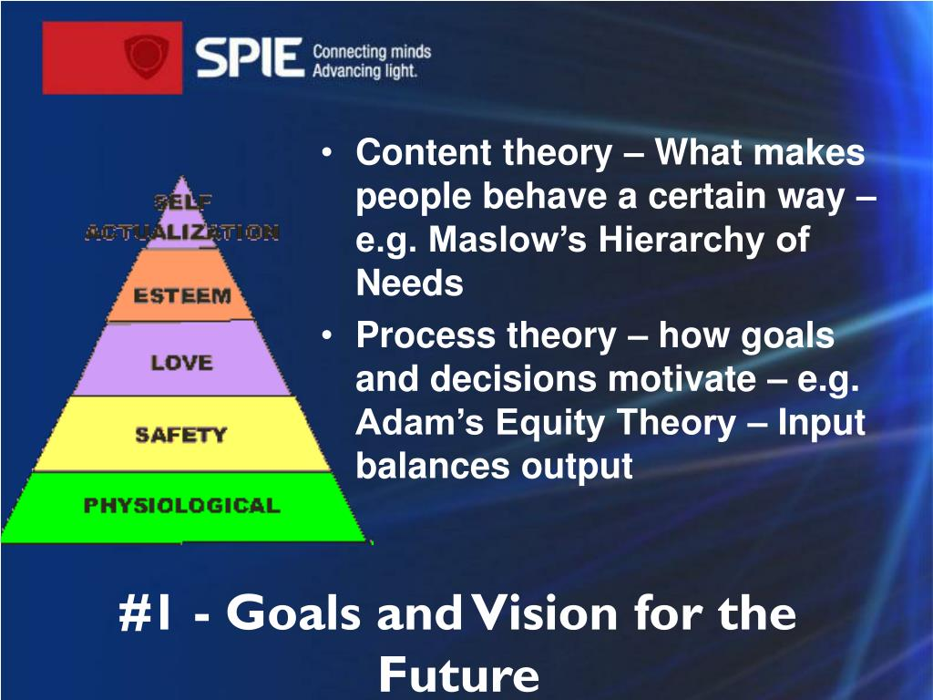 #1 - Goals and Vision for the Future