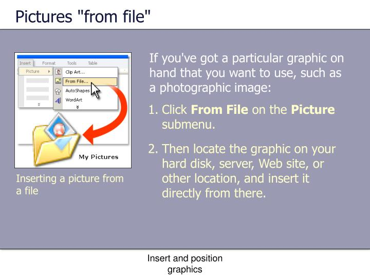 """Pictures """"from file"""""""